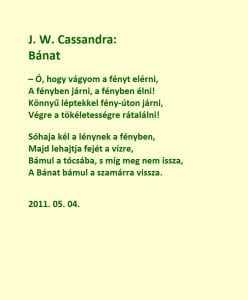 Bánat A Hungarian poem by J W Cassandra at UpDivine