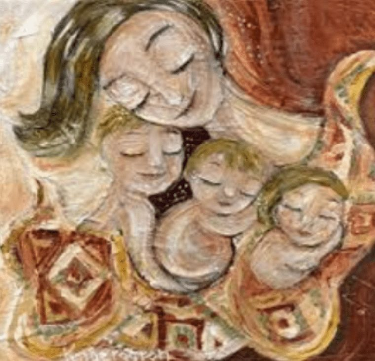 Hues and Colours of Maternity - A poem by Vinita Nahata at UpDivine