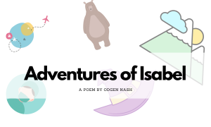 Adventures of Isabel by Ogden Nash