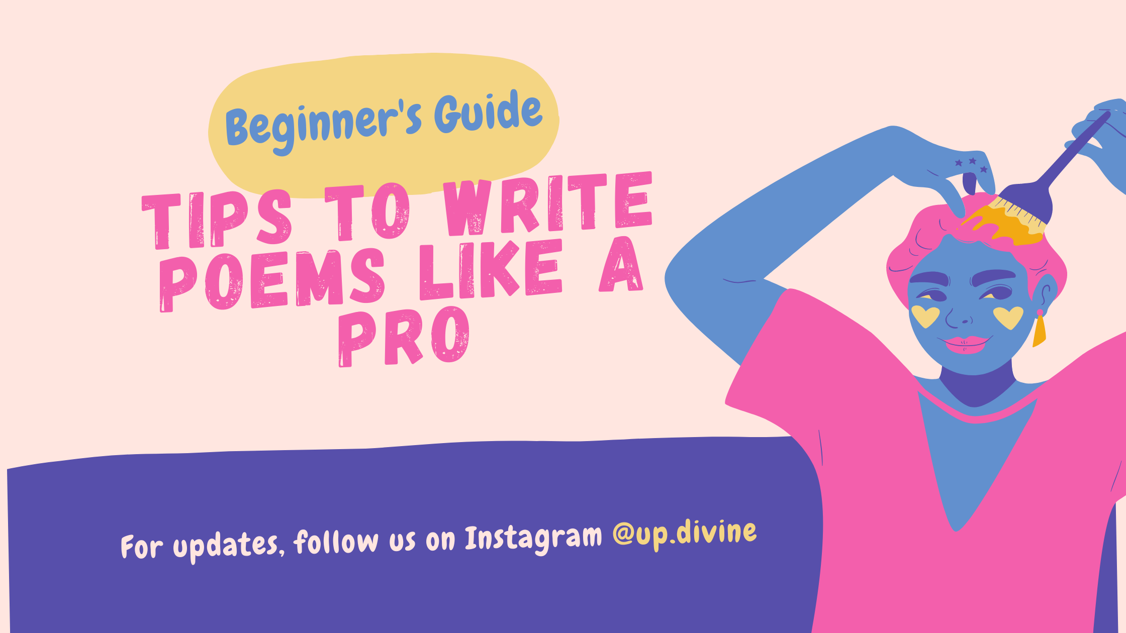 Writing tips for beginner poets