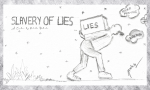 Slavery of Lies | A Poem by Ritika Nahata at UpDivine