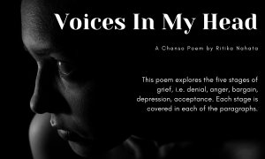 Voices In My Head A Chanso Poem by Ritika Nahata at UpDivine